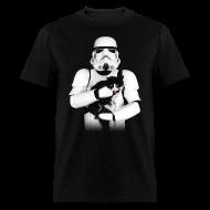 T-Shirts ~ Men's T-Shirt ~ Stormtrooper Cat - Adult