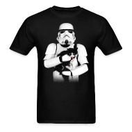 T-Shirts ~ Men's T-Shirt ~ Stormtrooper Cat - Adult