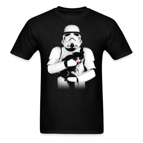 Stormtrooper Cat - Adult - Men's T-Shirt