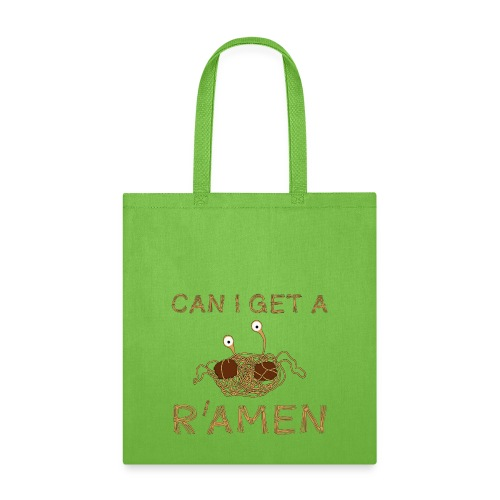 Can I get a R'Amen? Flying Spaghetti Monster  - Tote Bag