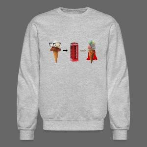 Michigan Superman Ice Cream - Crewneck Sweatshirt
