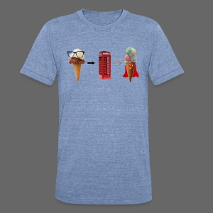 Michigan Superman Ice Cream - Unisex Tri-Blend T-Shirt