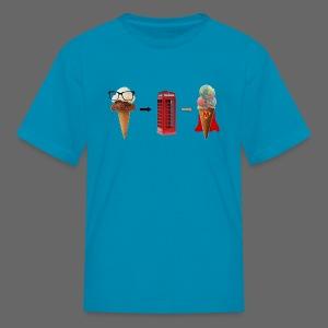 Michigan Superman Ice Cream - Kids' T-Shirt