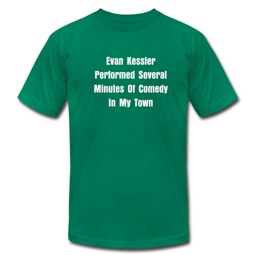 Evan Kessler Comedy Tour Shirt - Men's  Jersey T-Shirt