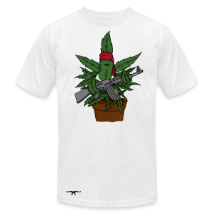 T-shirt WeedWar - Men's Fine Jersey T-Shirt