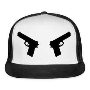 Gun Trucker Hat - Trucker Cap