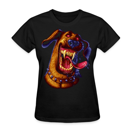Pixel Dog - Women's T-Shirt