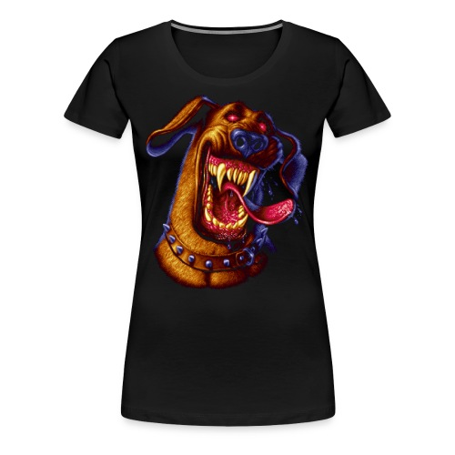 Pixel Dog - Women's Premium T-Shirt