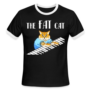 The Fat Cat - Men's Ringer T-Shirt