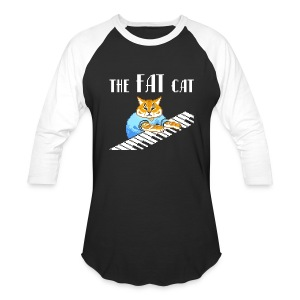 The Fat Cat - Baseball T-Shirt