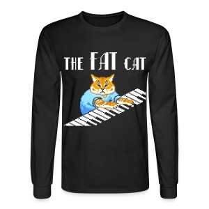The Fat Cat - Men's Long Sleeve T-Shirt