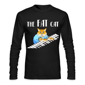 The Fat Cat - Men's Long Sleeve T-Shirt by Next Level