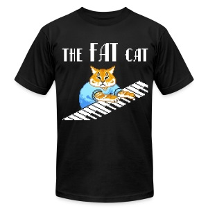 The Fat Cat - Men's Fine Jersey T-Shirt