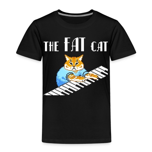 The Fat Cat - Toddler Premium T-Shirt