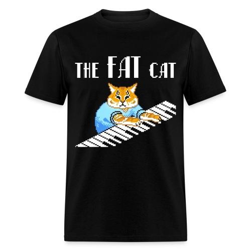 The Fat Cat - Men's T-Shirt