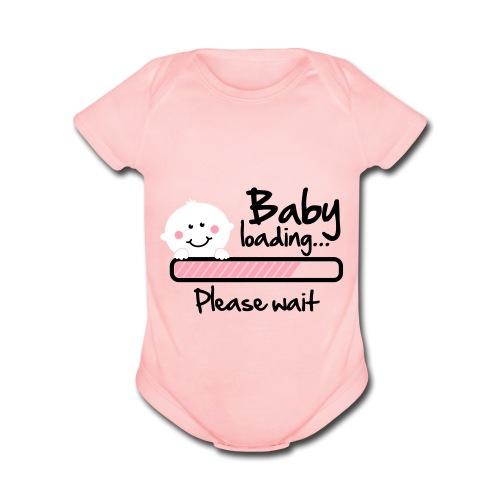 BABY ON THE WAY!!! - Organic Short Sleeve Baby Bodysuit