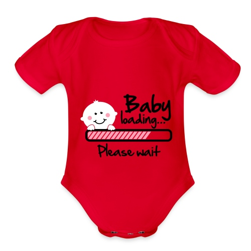 BABY ON THE WAY!!! - Organic Short Sleeve Baby Bodysuit