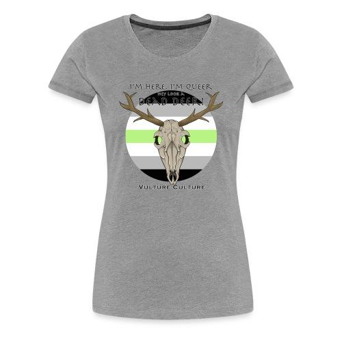 Agender Vulture Culture - Women's Premium T-Shirt