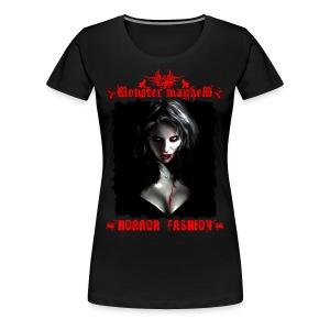 Monster Mayhem 4 - Women's Premium T-Shirt