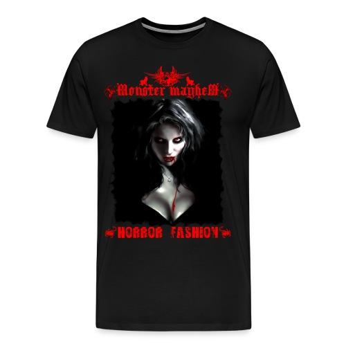 Monster Mayhem 4 - Men's Premium T-Shirt