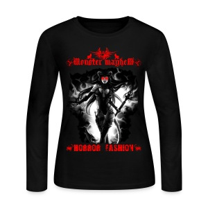 Monster Mayhem 13 - Women's Long Sleeve Jersey T-Shirt