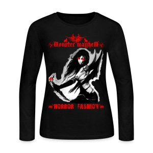 Monster Mayhem 8 - Women's Long Sleeve Jersey T-Shirt