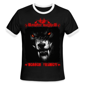Monster Mayhem 5 - Men's Ringer T-Shirt
