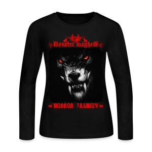 Monster Mayhem 5 - Women's Long Sleeve Jersey T-Shirt