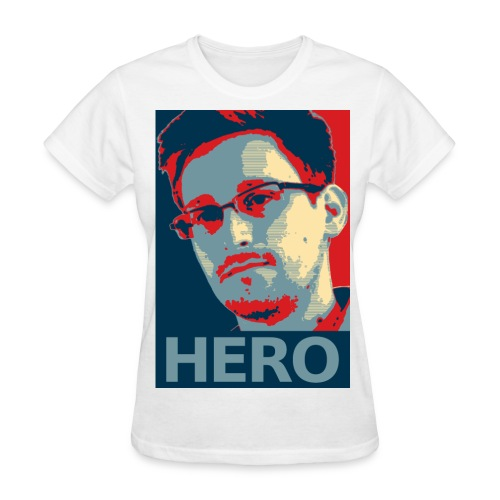 Snowden Hero WOMEN - Women's T-Shirt
