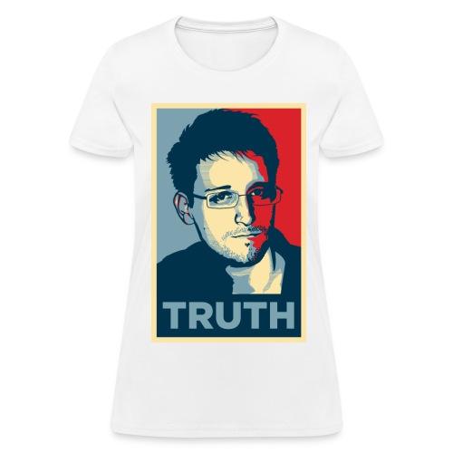 Snowden Truth WOMEN - Women's T-Shirt