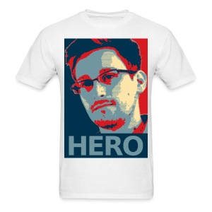 Snowden Hero MEN - Men's T-Shirt