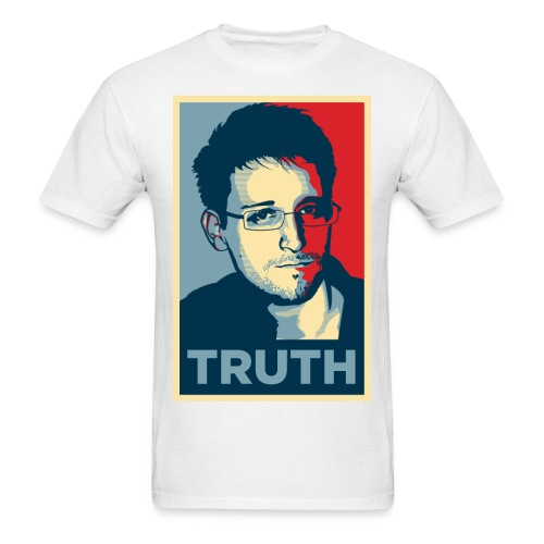 Snowden Truth MEN - Men's T-Shirt