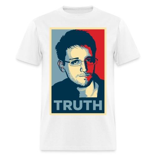 Snowden Truth MEN - Men's T-Shirt
