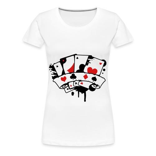 Deck Of Cards Womens Shirt - Women's Premium T-Shirt