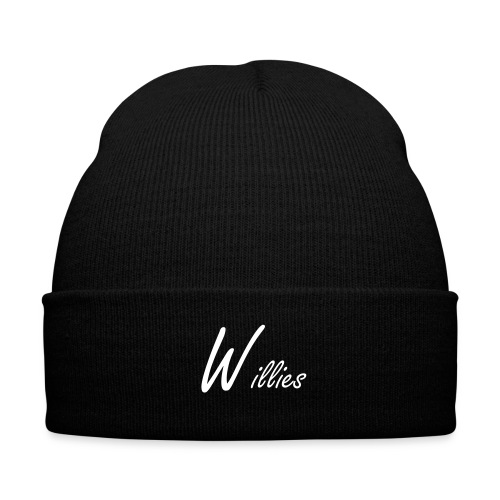 Original Willies Benie - Knit Cap with Cuff Print