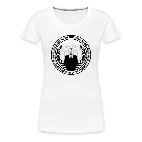 We Are Anonymous - WOMEN - Women's Premium T-Shirt