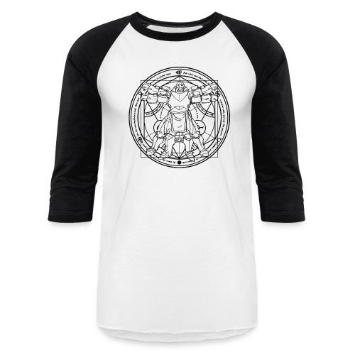Anatomical Alphonse Baseball Tee - Baseball T-Shirt