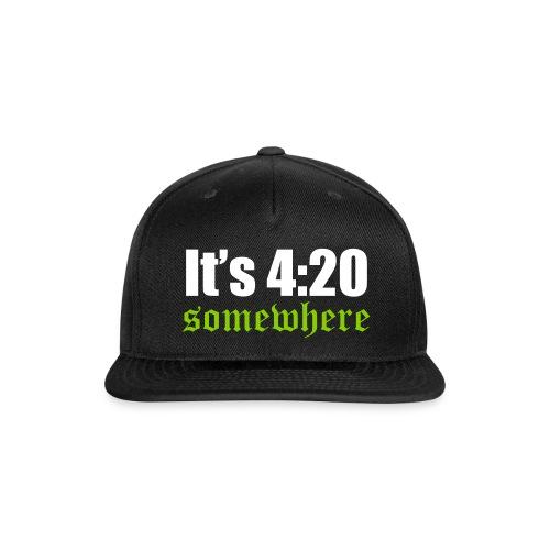 420 Somewhere - Snap-back Baseball Cap