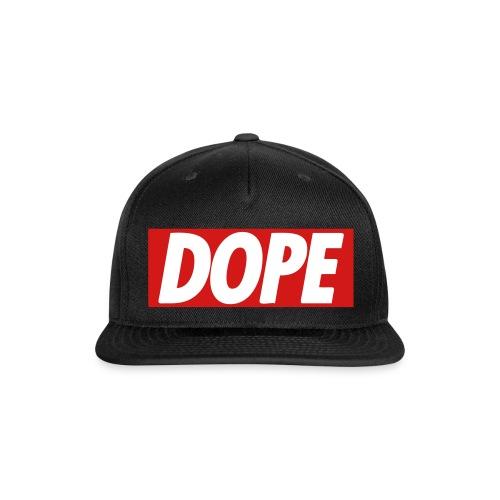 Dope Hat - Snap-back Baseball Cap