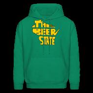 Hoodies ~ Men's Hoodie ~ The Beer State (Gold)