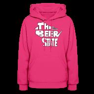 Hoodies ~ Women's Hoodie ~ The Beer State (White)
