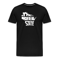 T-Shirts ~ Men's Premium T-Shirt ~ The Beer State (White)