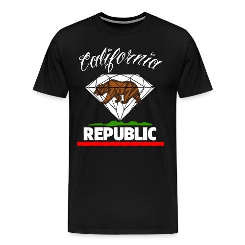 Californiaaa - Men's Premium T-Shirt