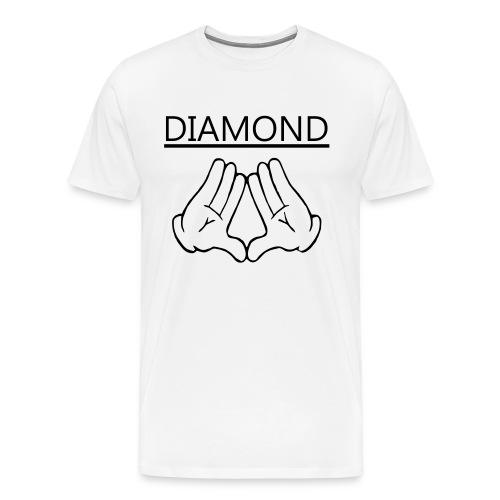 Diamondd - Men's Premium T-Shirt