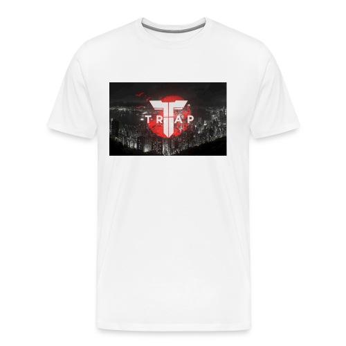 Trap new york skyline - Men's Premium T-Shirt