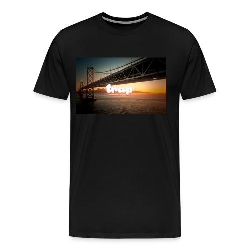 Trap Golden state bridge - Men's Premium T-Shirt