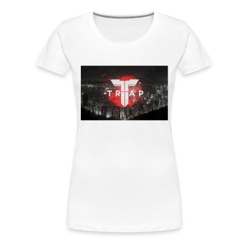 Womens Trap New York Skyline - Women's Premium T-Shirt