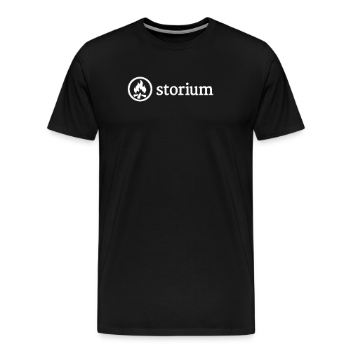 Men's Black Storium T-Shirt - Men's Premium T-Shirt