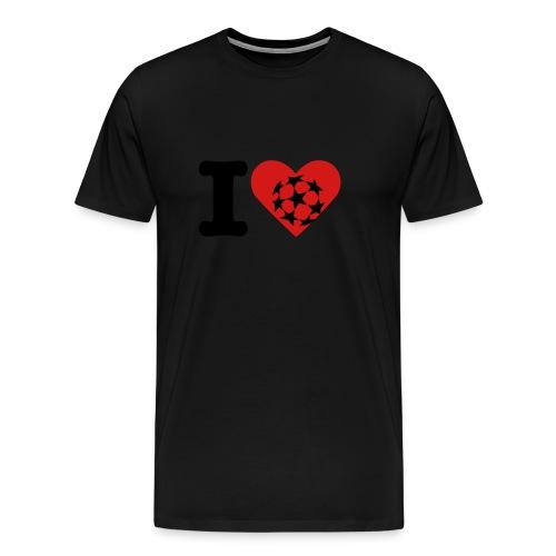 I Love Champions League Shirt - SSFC - Men's Premium T-Shirt