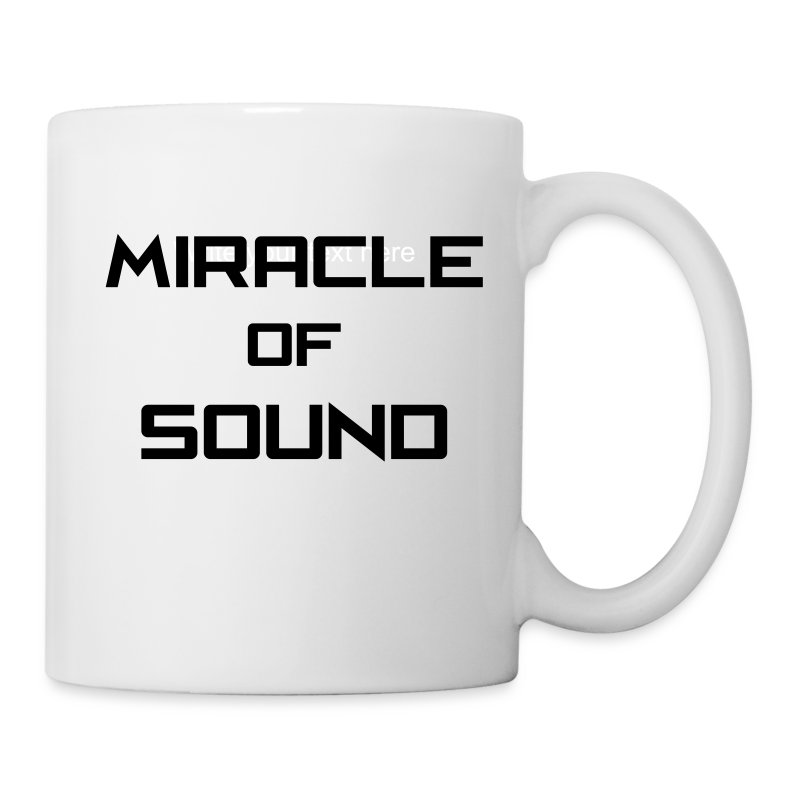 MOS Text Mug  - Coffee/Tea Mug